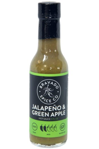 Bravado Spice Co. Jalapeno & Green Apple Hot Sauce 148ml