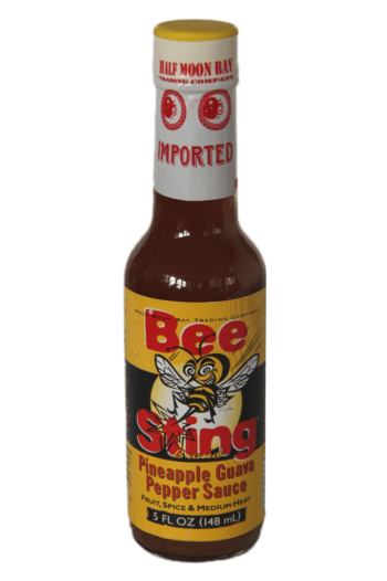 Bee Sting Pineapple Guava Pepper Sauce 148ml
