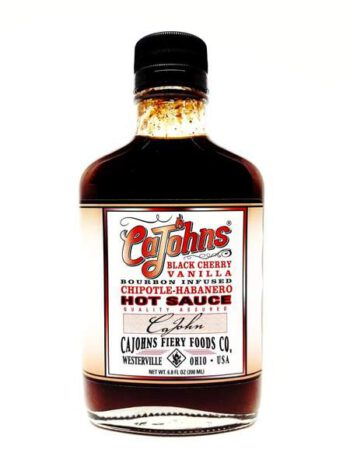 CaJohn's Black Cherry Vanilla Hot Sauce 200ml