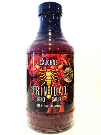 CaJohn's Trinidad Scorpion BBQ Sauce 454g