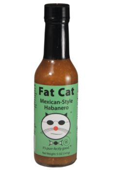 Fat Cat Mexican-Style Habanero Hot Sauce 141g
