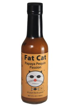 Fat Cat Papaya Pequin Passion Hot Sauce 148ml