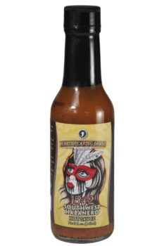 Heartbreaking Dawn's 1542 Southwestern Habanero Hot Sauce 148ml