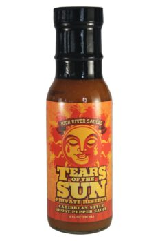 High River Sauces Tears of the Sun Private Reserve Hot Sauce 236ml