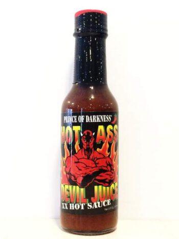 Hot Ass Devil Juice XX Hot Sauce 147ml