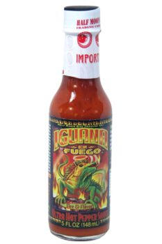 Iguana En Fuego Ultra Hot Pepper Sauce 148ml
