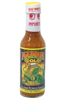 Iguana Gold Island Pepper Hot Sauce 148ml