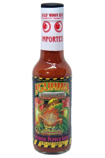 Iguana Radioactive Atomic Pepper Hot Sauce 148ml