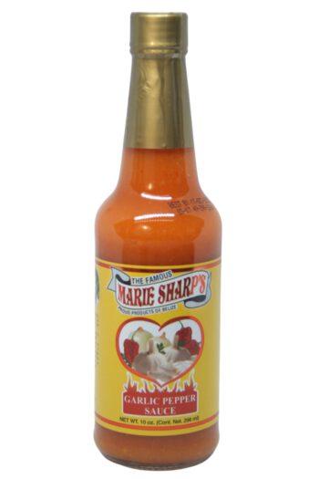 Marie Sharp's Garlic Habanero Pepper Sauce 296ml