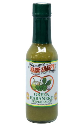 Marie Sharp's Green Habanero Hot Sauce with Prickly Pears 148ml