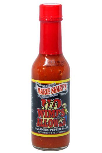 Marie Sharp's No Wimps Allowed Hot Sauce 148ml