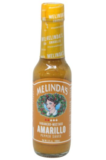 Melinda's Habanero Mustard Amarillo Pepper Sauce 148ml