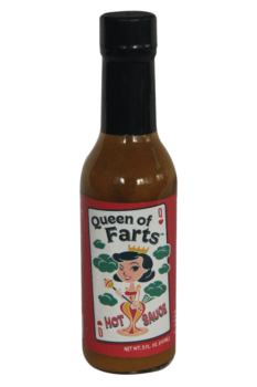 Queen Of Farts Hot Sauce 147ml