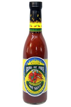 Ring of Fire Red Pepper & Roasted Garlic Hot Sauce 370ml