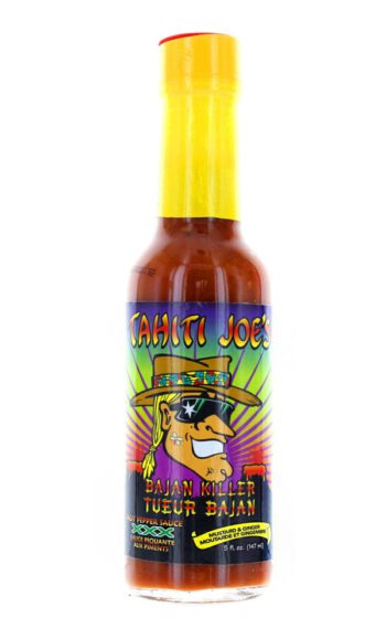 Tahiti Joe's Bajan Killer XXX Mustard & Ginger Hot Pepper Sauce 147ml