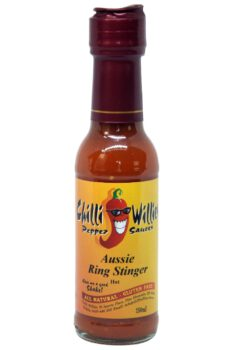 Chilli Willies Aussie Ring Stinger Hot Sauce 150ml