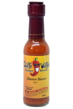 Chilli Willies Blurter Hurter Hot Sauce 150ml