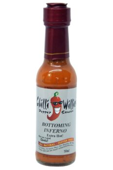 Chilli Willies Bottoming Inferno Hot Sauce 150ml