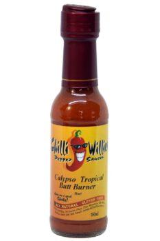 Chilli Willies Calypso Tropical Butt Burner Hot Sauce 150ml