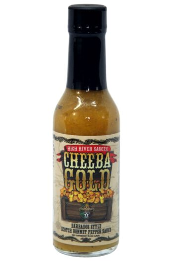 High River Sauces Cheeba Gold Barbados Style Scotch Bonnet Sauce 148ml