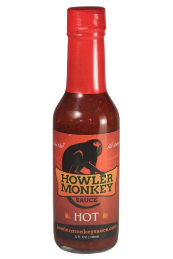 Howler Monkey Red Hot Sauce 148ml