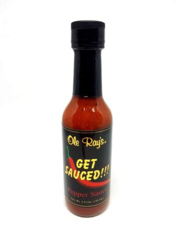 Ole Ray's Get Sauced! Pepper Sauce 148ml