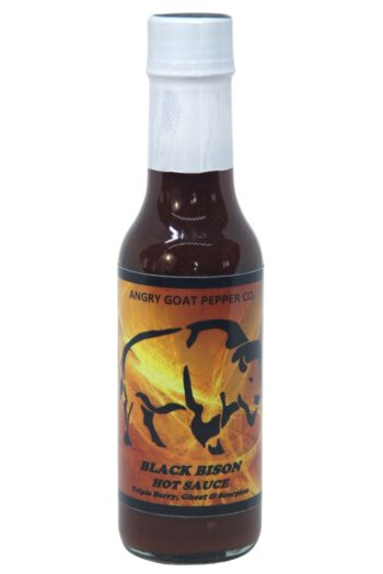 Angry Goat Black Bison Hot Sauce 148ml