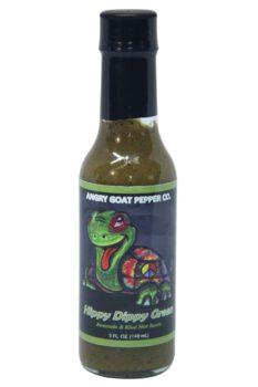 Angry Goat Dark Swizzle Hot Sauce 148ml