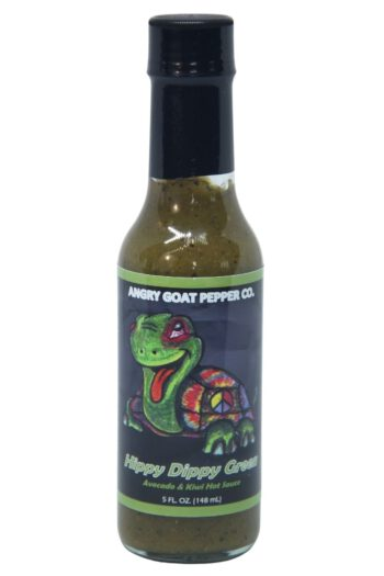 Angry Goat Hippy Dippy Green Hot Sauce 148ml