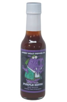 Angry Goat Purple Hippo Hot Sauce 148ml
