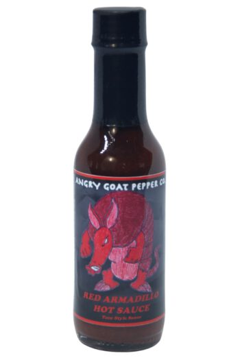 Angry Goat Red Armadillo Hot Sauce 148ml