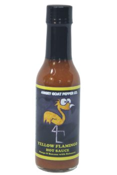 Angry Goat Yellow Flamingo Hot Sauce 148ml