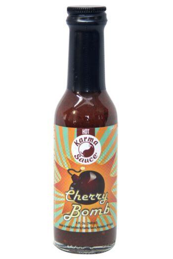 Karma Sauce Cherry Bomb Hot Sauce 148ml