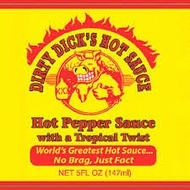 Dirty Dick's Hot Pepper Sauce With a Tropical Twist 147ml