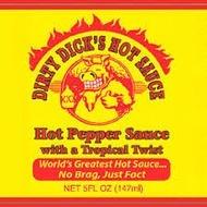 Dirty Dick's Peachy Green Hot Pepper Sauce 147ml