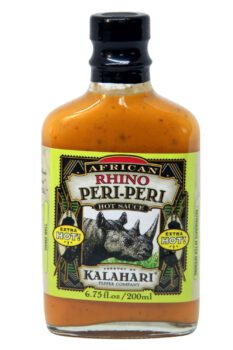 African Rhino Peri-Peri Extra Hot Pepper Sauce 200ml
