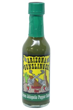 Arizona Gunslinger Green Jalapeno Pepper Sauce 148ml