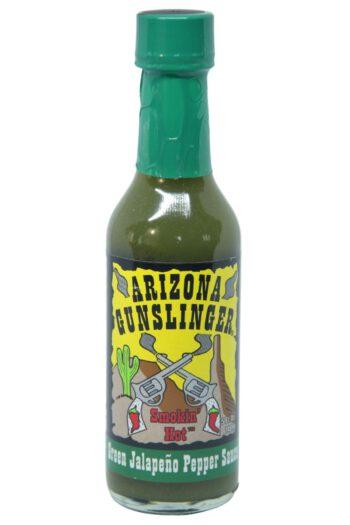 Arizona Gunslinger Green Jalapeno Pepper Sauce 148ml