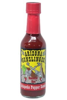 Arizona Gunslinger Red Jalapeno Pepper Sauce 148ml
