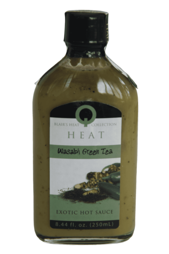 Blair's Q Heat Wasabi Green Tea Hot Sauce 250ml