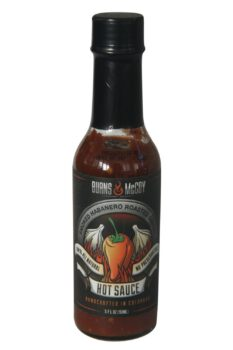 Burns & McCoy Smoked Habanero Roasted Garlic Hot Sauce 148ml
