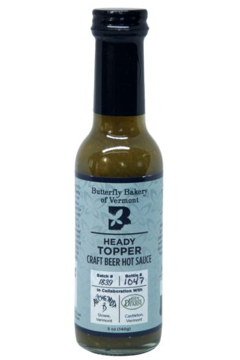 Butterfly Bakery of Vermont Heady Topper Hot Sauce 148ml