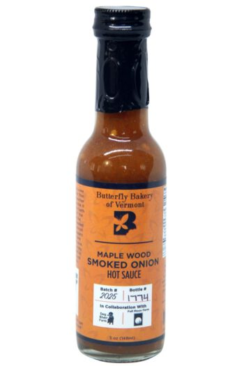 Butterfly Bakery of Vermont Maple Wood Smoked Onion Hot Sauce 148ml