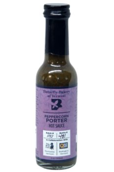 Butterfly Bakery of Vermont Peppercorn Porter Hot Sauce 148ml