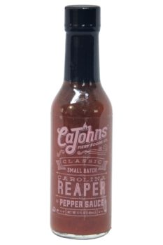 CaJohn's Classic Small Batch Carolina Reaper Pepper Sauce 148ml