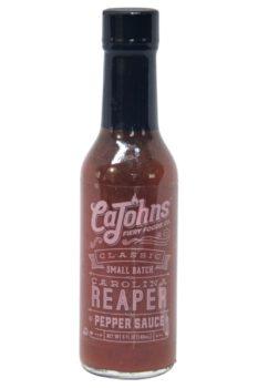 CaJohn's Small Batch Trinidad Scorpion Garlic Pepper Sauce 148ml