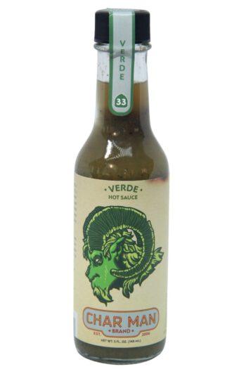 Char Man Verde Hot Sauce 148ml