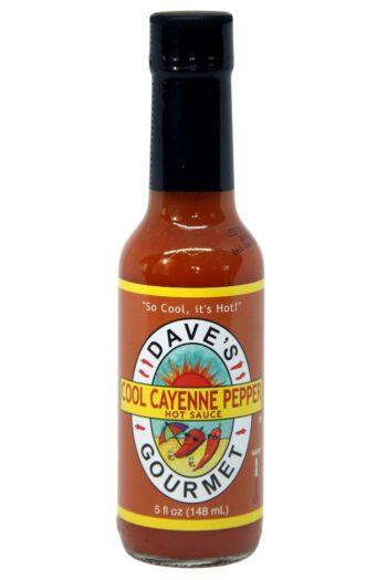 Dave's Gourmet Cool Cayenne Pepper Hot Sauce 142g