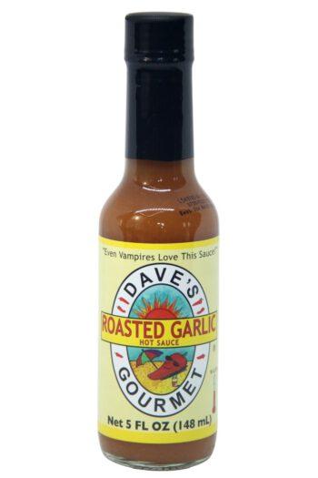 Dave's Gourmet Roasted Garlic Hot Sauce 142g