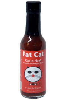 Fat Cat Cat in Heat Hot Sauce 141g
